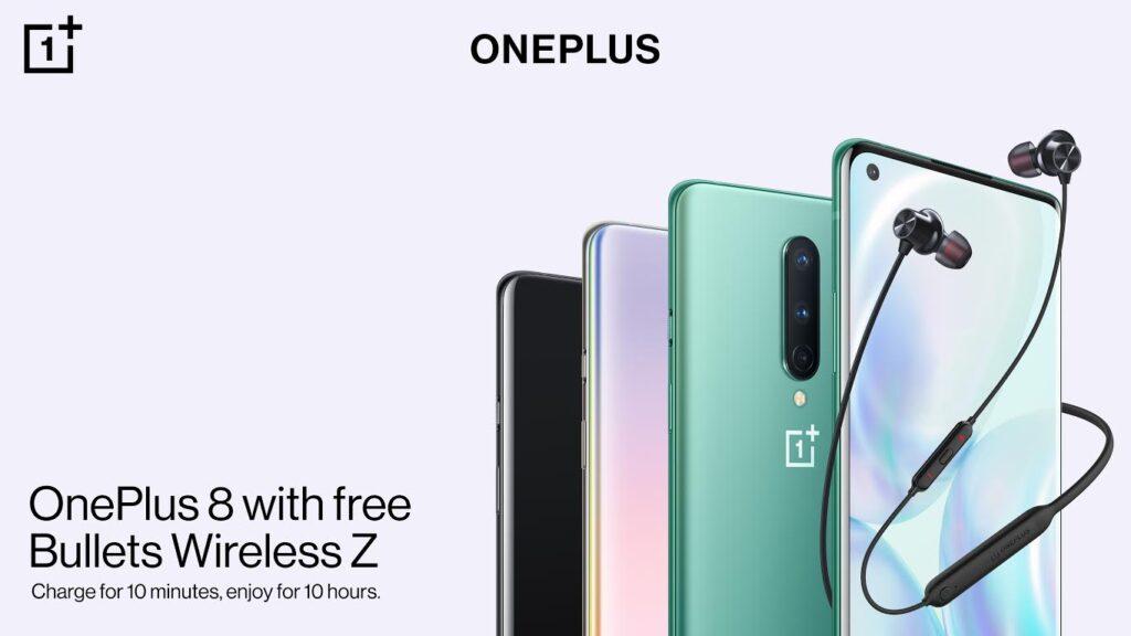 OnePlus 8 auriculares regalo 1