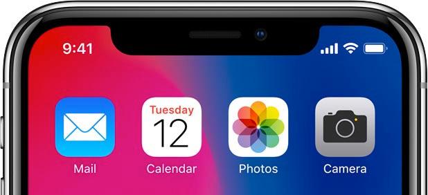 notch iphone 1