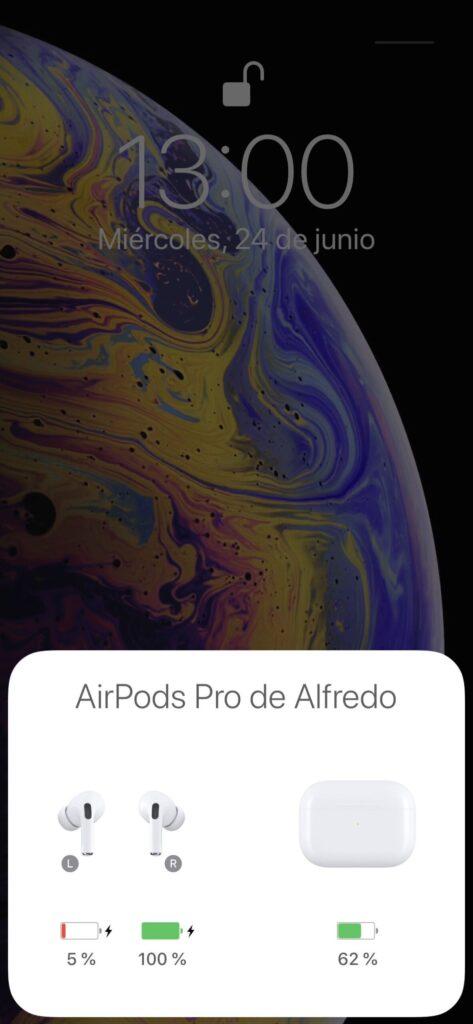 AirPods Pro emparejamiento 1