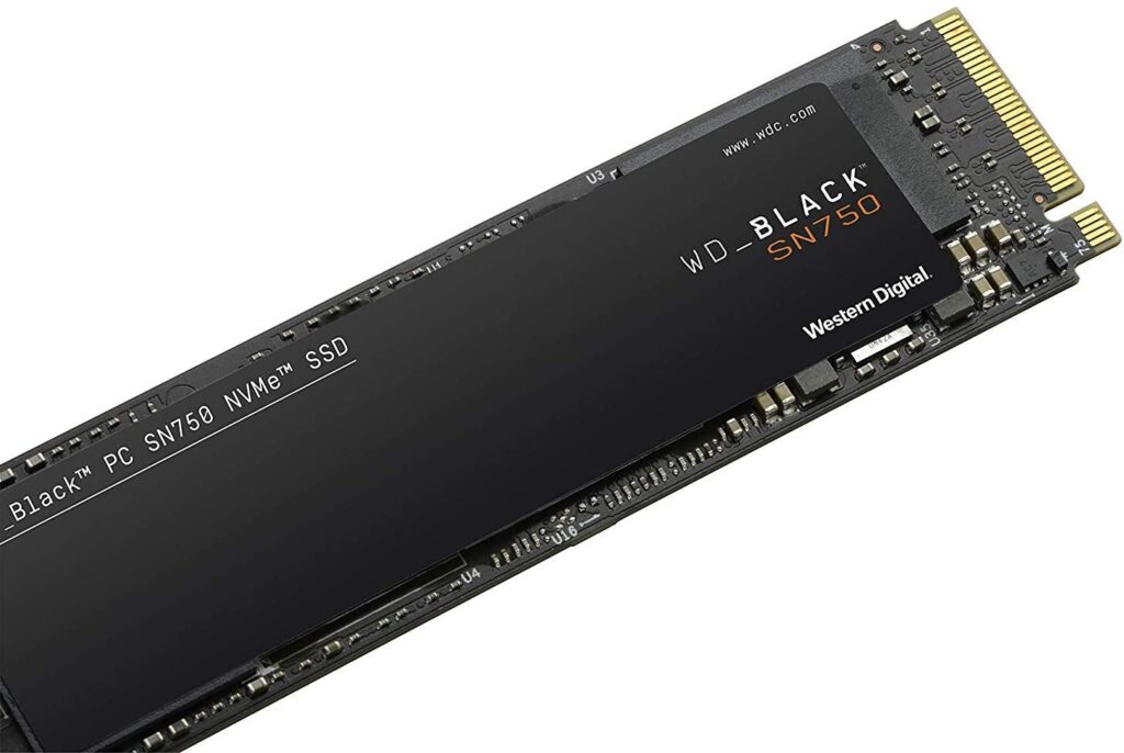 WD Black SN750 SSDs baratos 1