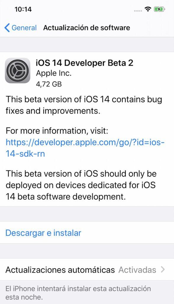 iOS 14 iPhone 1