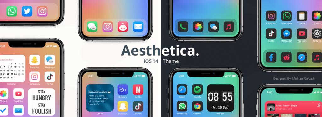 Aesthetica Icons marketplace