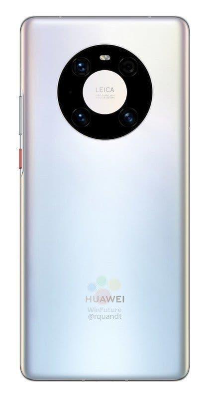 Huawei Mate 40 Pro trasera