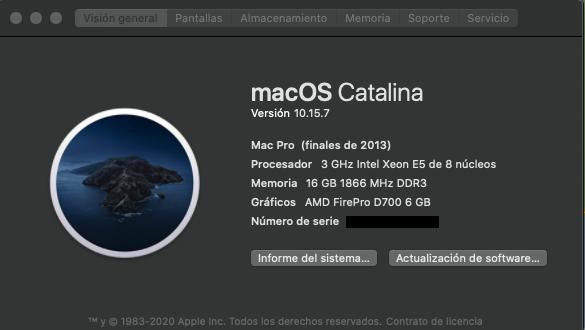 Mac procesador