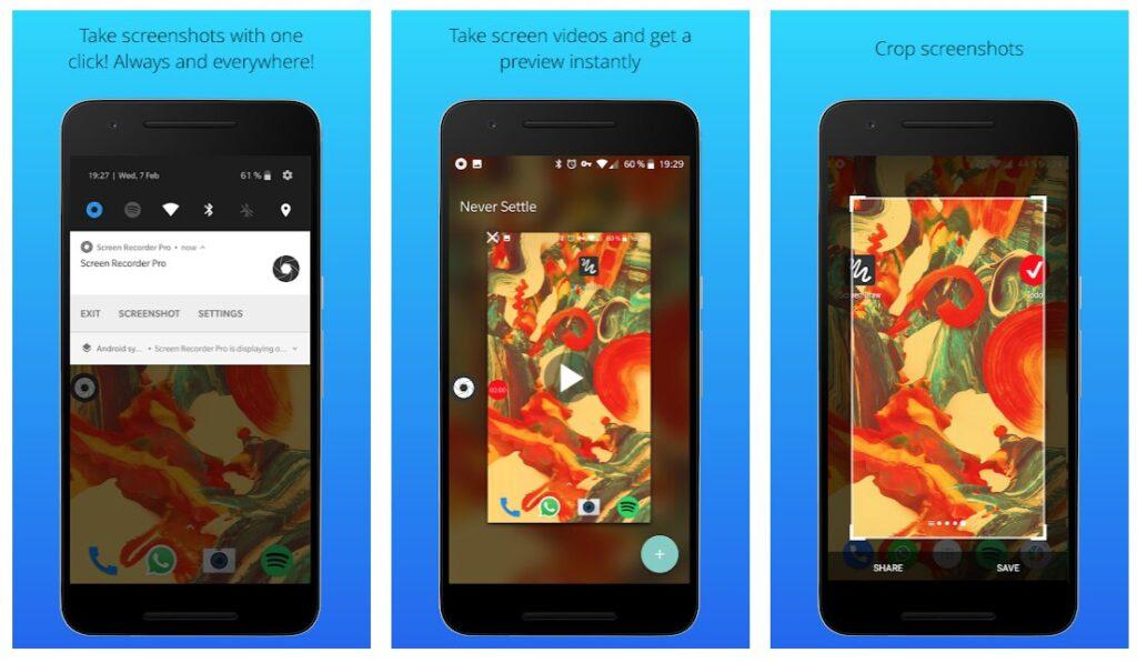 Screenshot Pro 2 aplicaciones gratuitas