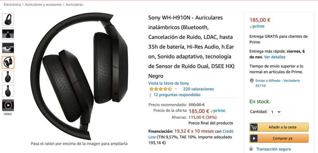 Sony WH H910 3