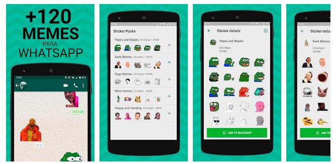 WhatsApp stickers