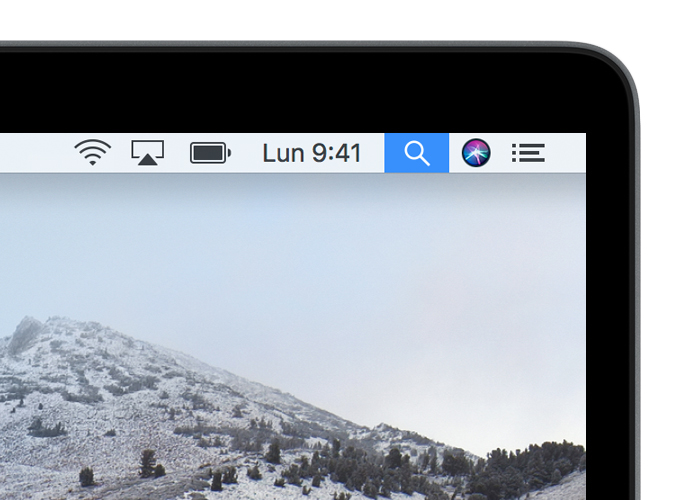 macos high sierra menu bar spotlight crop
