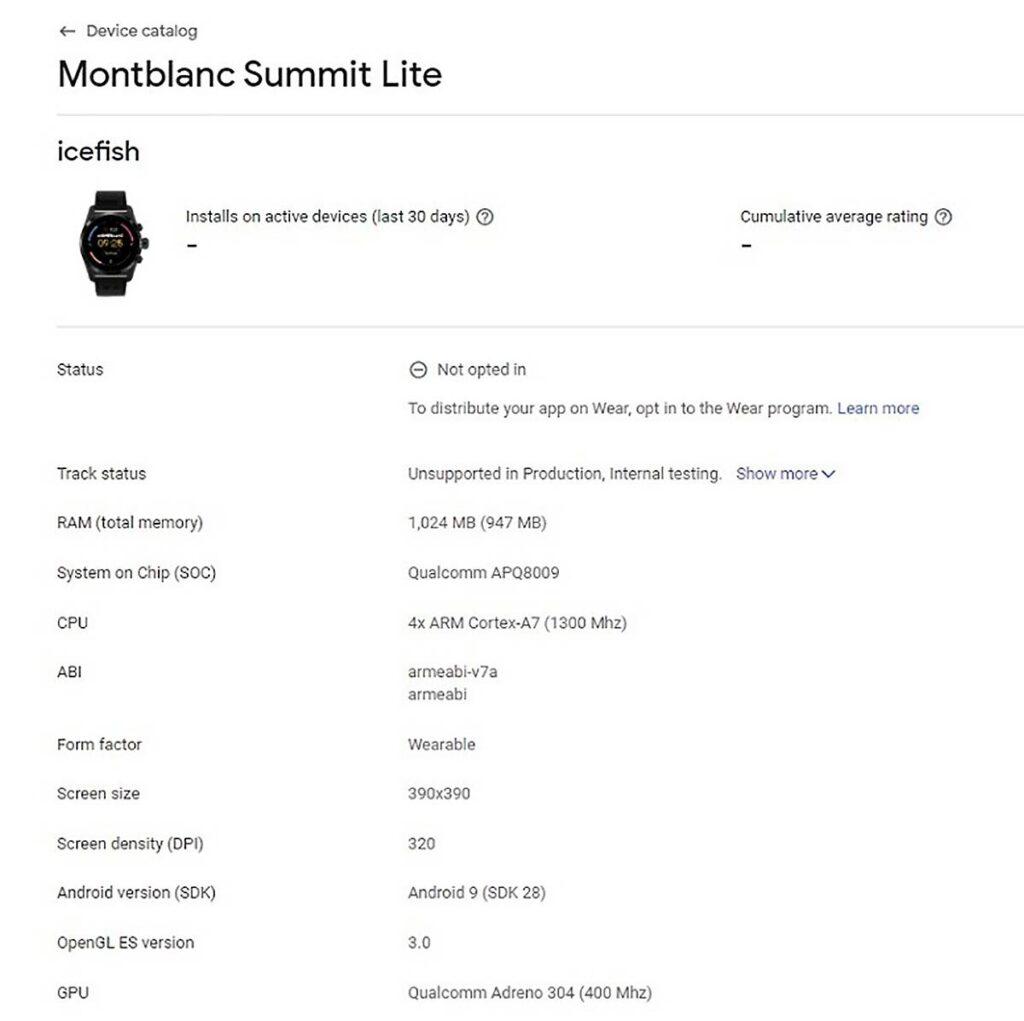 MontBlact Summit Lite