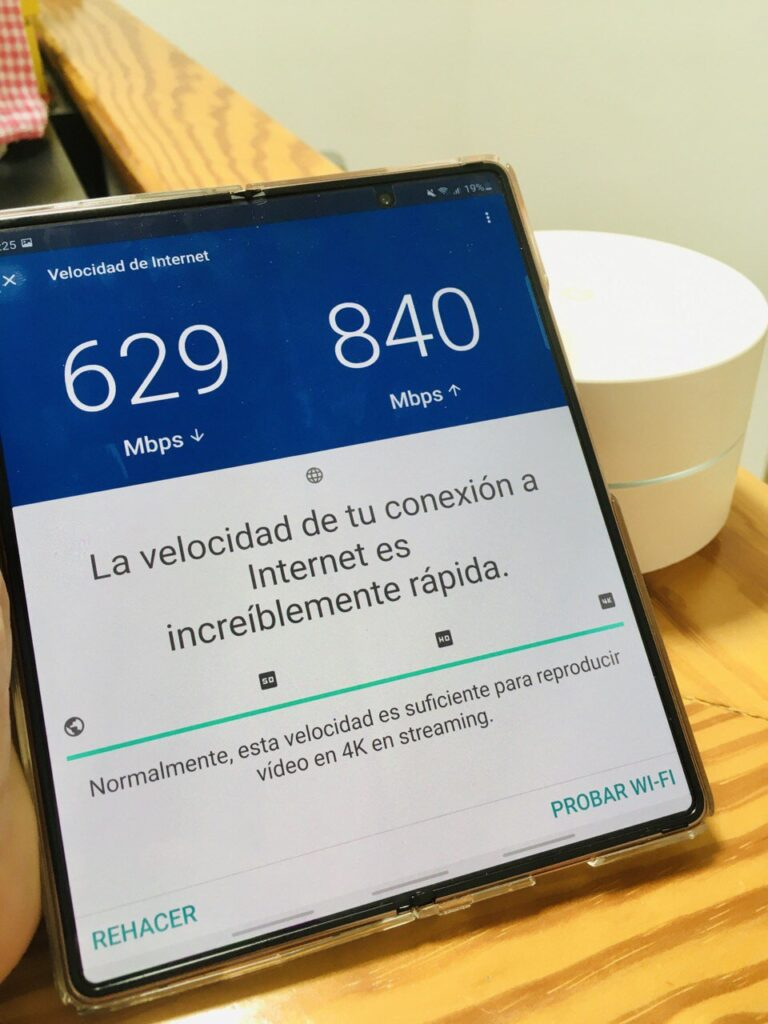 Google WiFi pruebas 1