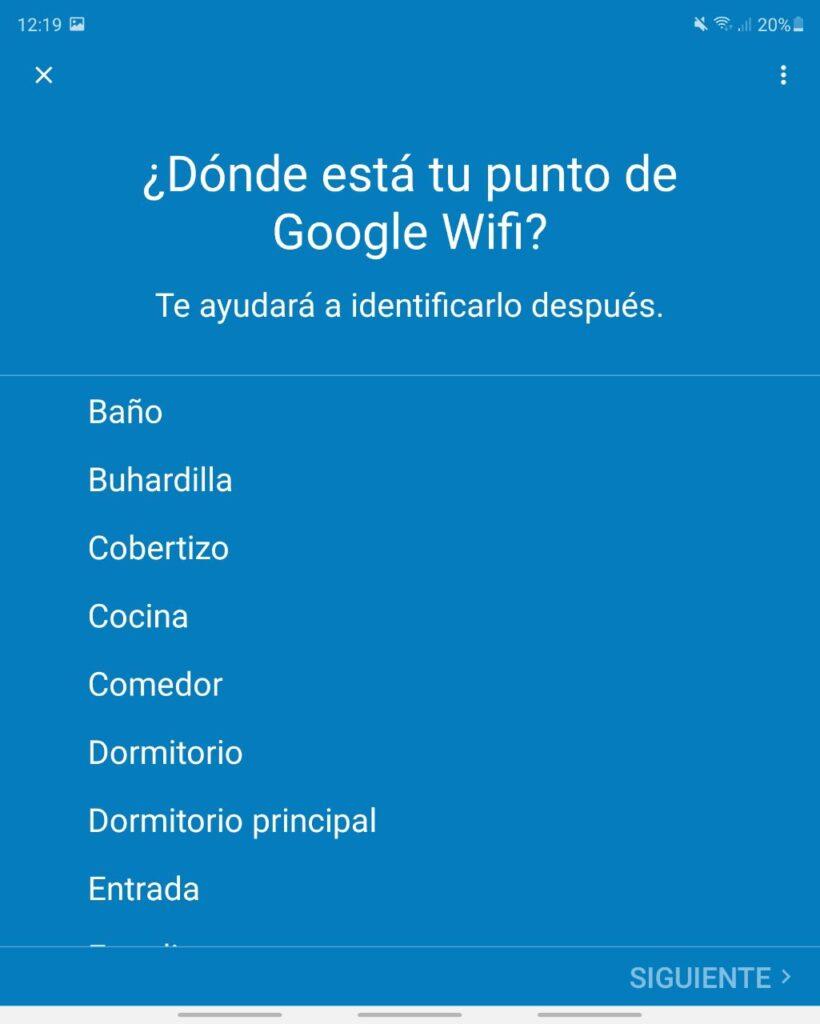 Google Wifi zonas 1