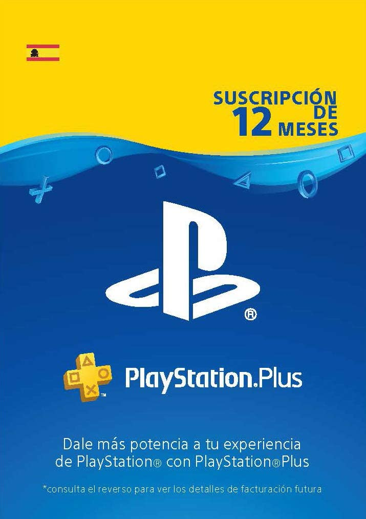 PlayStation Plus Suscripcion 12 Meses